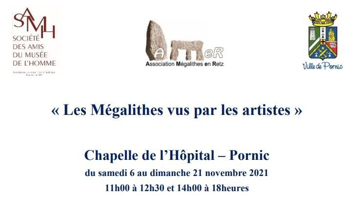EXPOSITION: LES MEGALITHES VUS PAR LES ARTISTES PORNIC