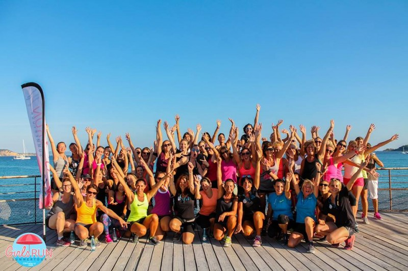Girls run tour