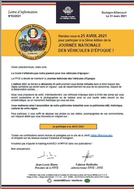 JOURNEE NATIONALE DES VEHICULES D'EPOQUE PORNIC EN VIRTUEL
