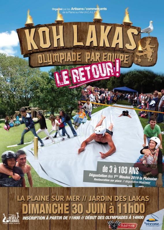 Koh Lakas - Olympiades en équipe - 30-06-2019 - La Plaine-sur-Mer