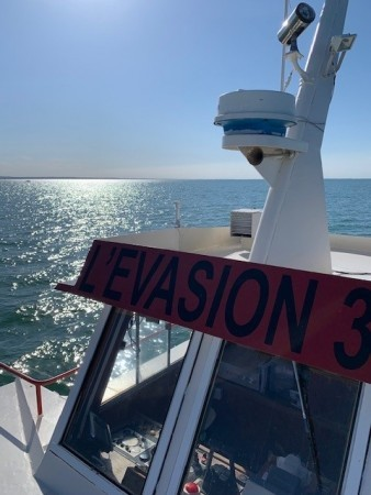 L'Evasion III croisière en mer