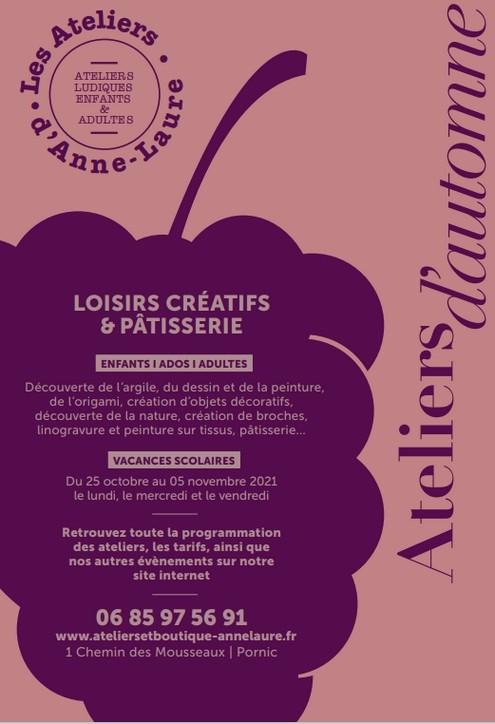 LES ATELIERS D'ANNE-LAURE: PÂTISSERIE PORNIC