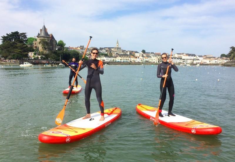 paddle en famille, activité nautique