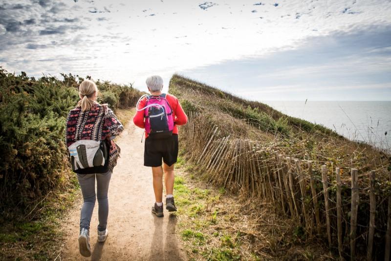 Randonneurs La Plaine Prefailles, randonnée pédestre, randonnée, marche,