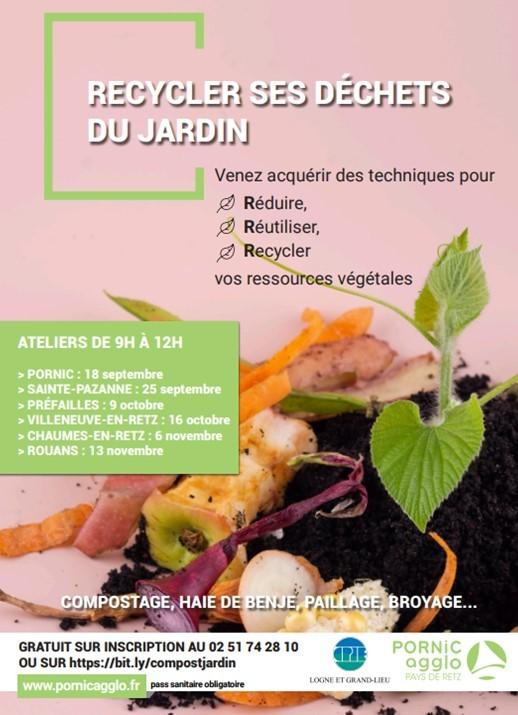 Recycler ses déchets au jardin