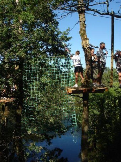 Saut de Tarzan - Accobranche Pornic Aventure