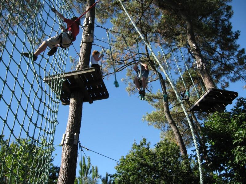 pornic week end sensation, escalade arbres aventure, résidence de tourisme