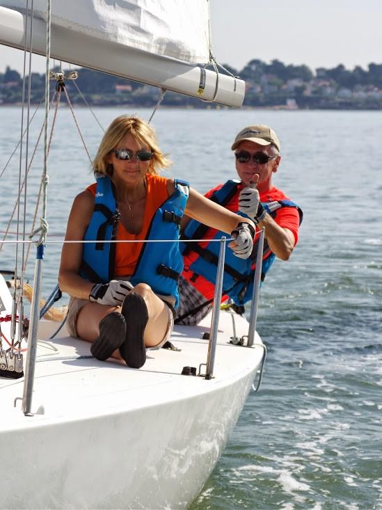 Sortie en voilier avec Skipper
