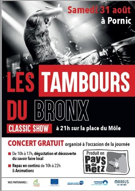 TAMBOURS DU BRONX PORNIC