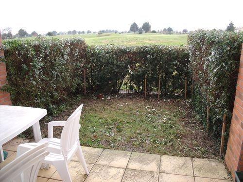 Terrasse jardinet vue golf - ORE51