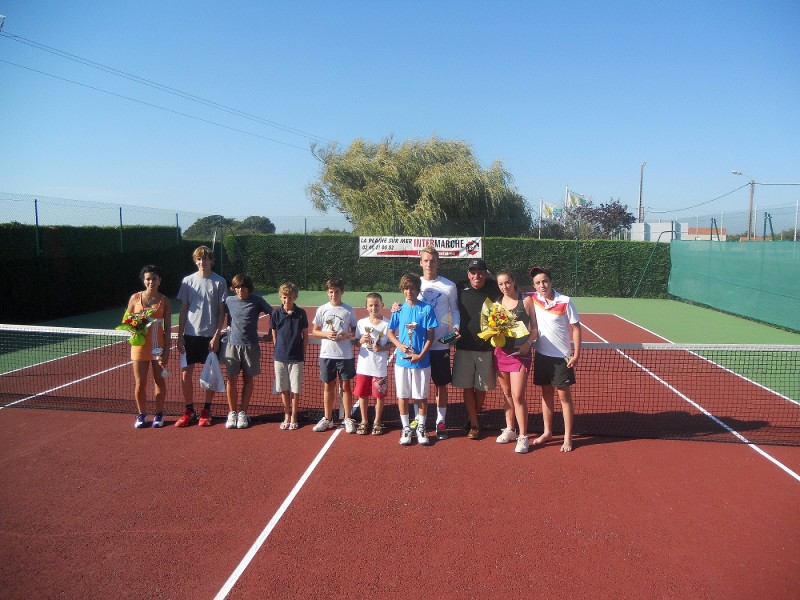 Tournoi open de tennis par le TROPP