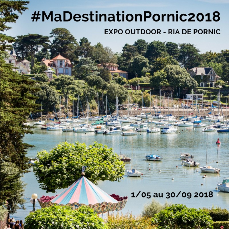Exposition Instagram, #madestinationpornic2018, instagram, destination pornic, challenge, photo, exposition, ria de pornic