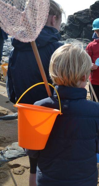 VISITE SPECIALE ENFANTS : PECHE A PIED ET LITTORAL ( 8 à 10 ans)