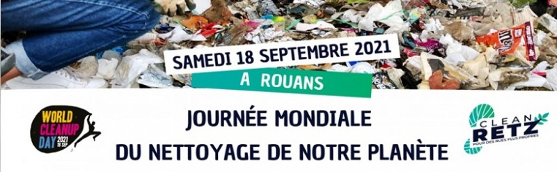 WORLD CLEANUP DAY - A ROUANS