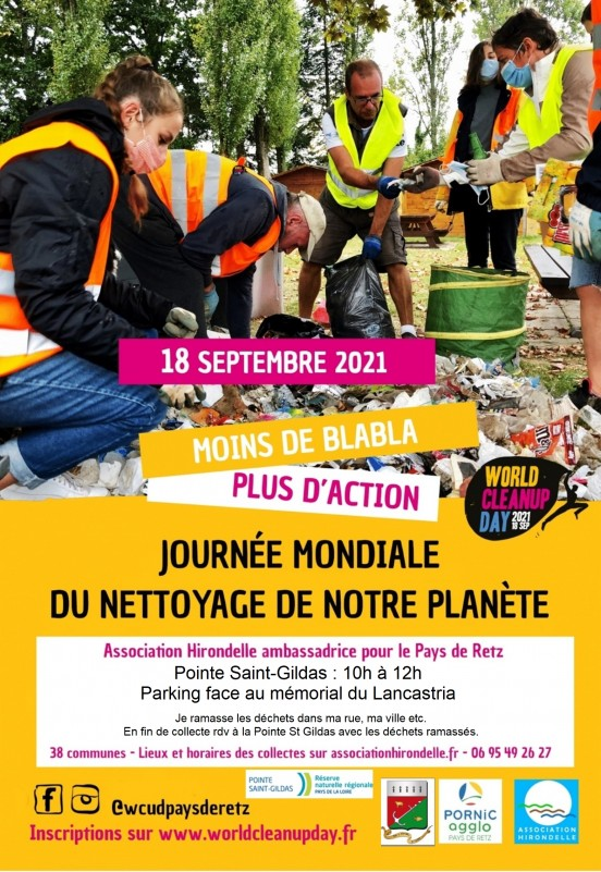 WORLD CLEANUP DAY PRÉFAILLES